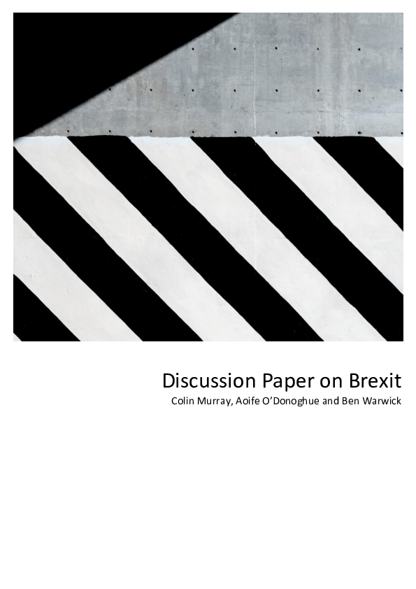 Discussion Paper on Brexit
