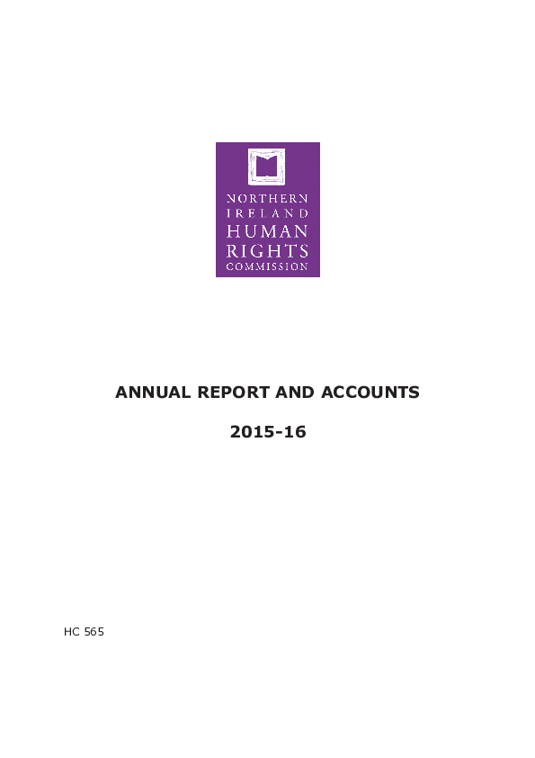 Annual Report and Accounts 2014-2015