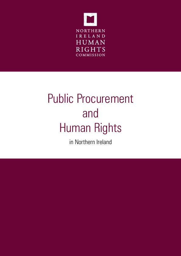 Public Procurement and Human Rights