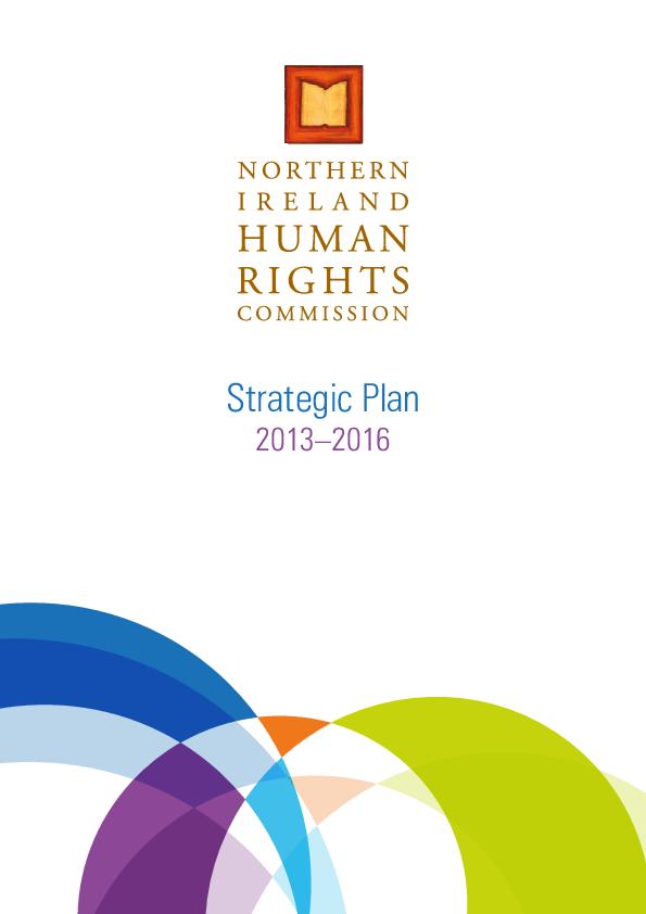 Strategic Plan 2013 - 2016