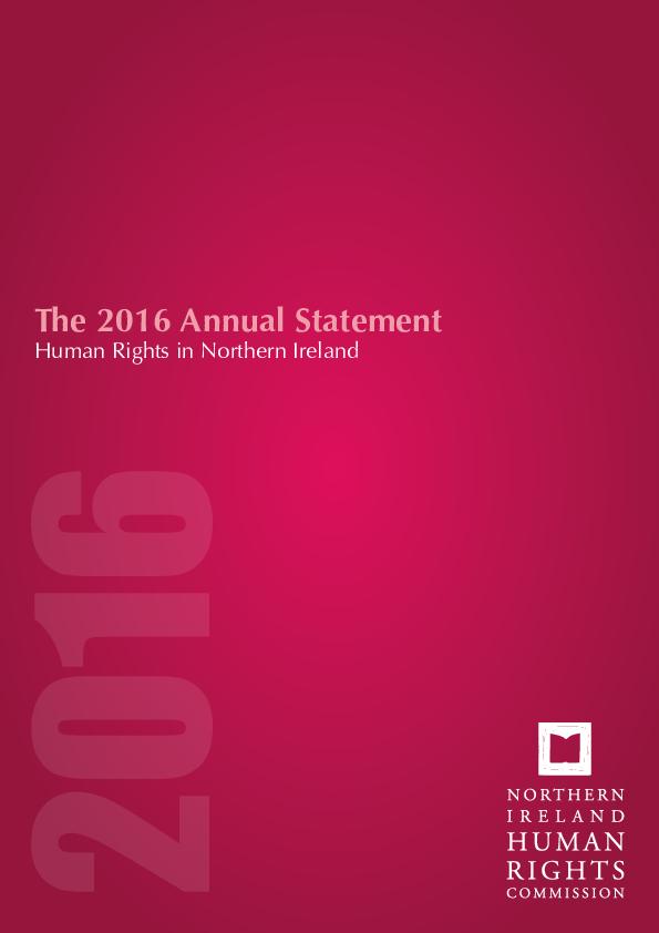 Annual Statement 2016