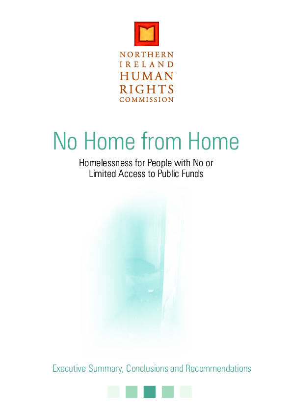 No Home from Home Executive Summary