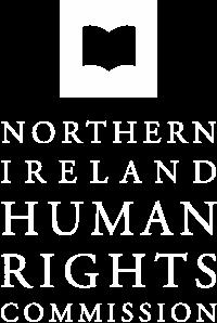 NIHRC logo white