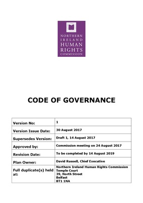 Code of Governance