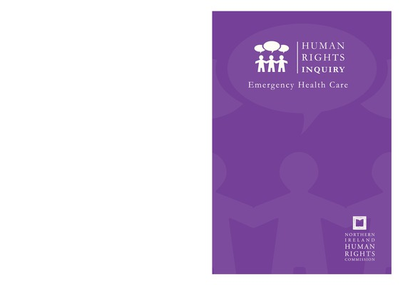 Human Rights Inquiry: Emergency Healthcare