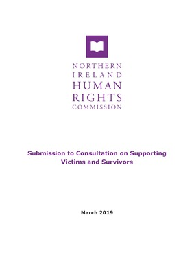 NIHRC Submission to Consultation on Supporting Victims and Survivors