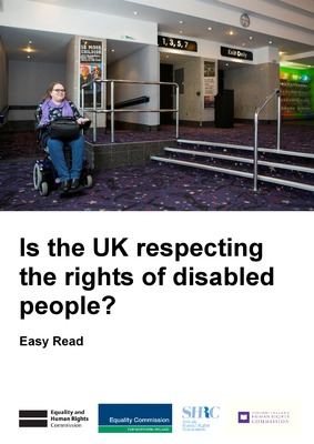 UK Independent Mechanism: Update Report to UN Committee on the CRPD - Easy Read