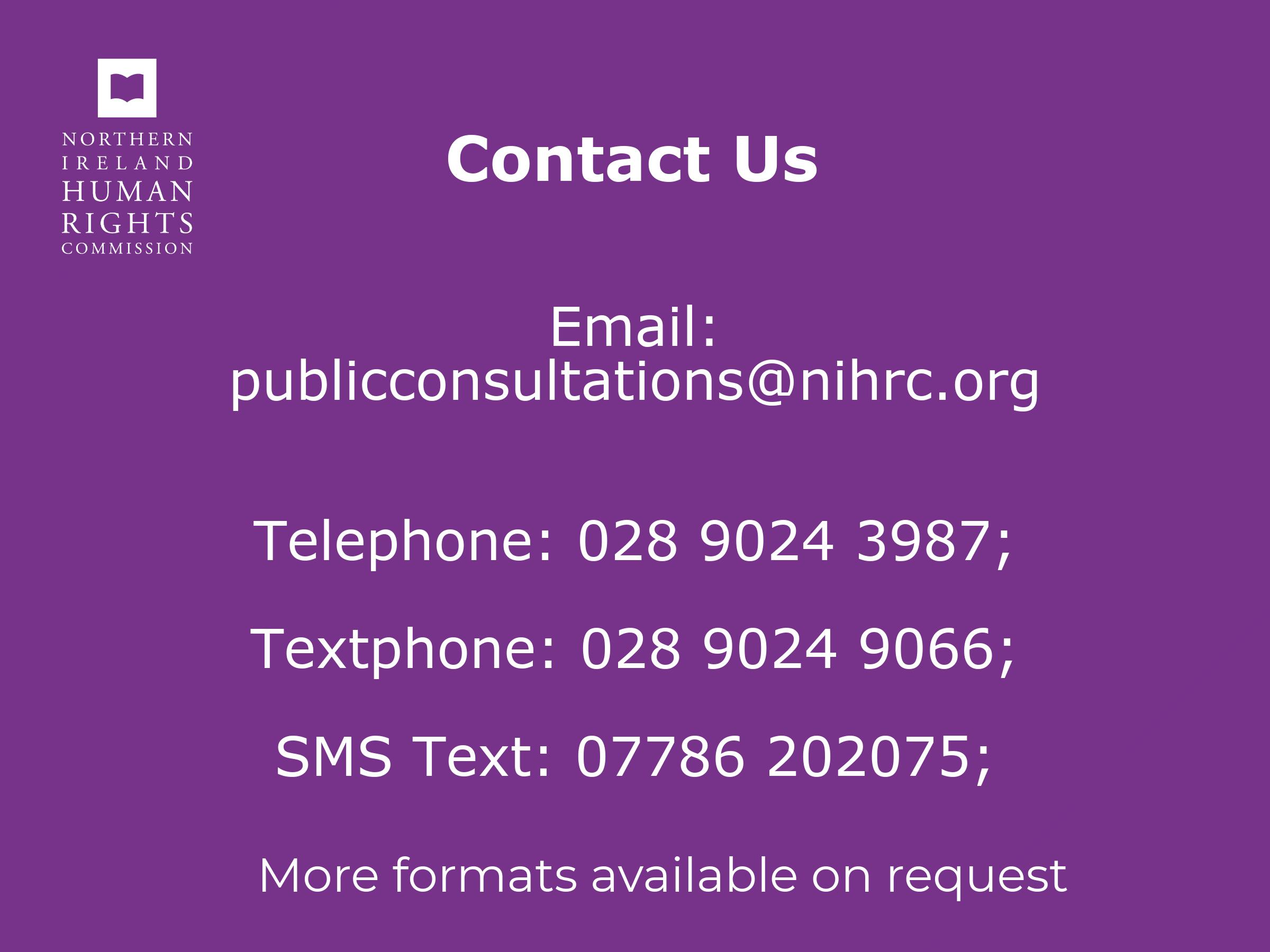 Contact methods