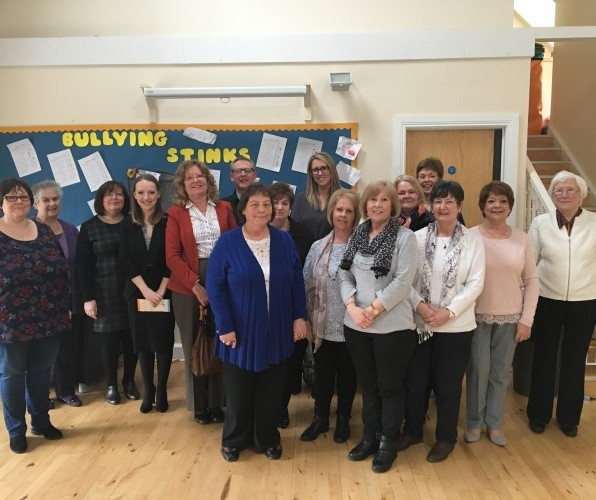 #IWD2017: NIHRC visits Shankill Women's Centre