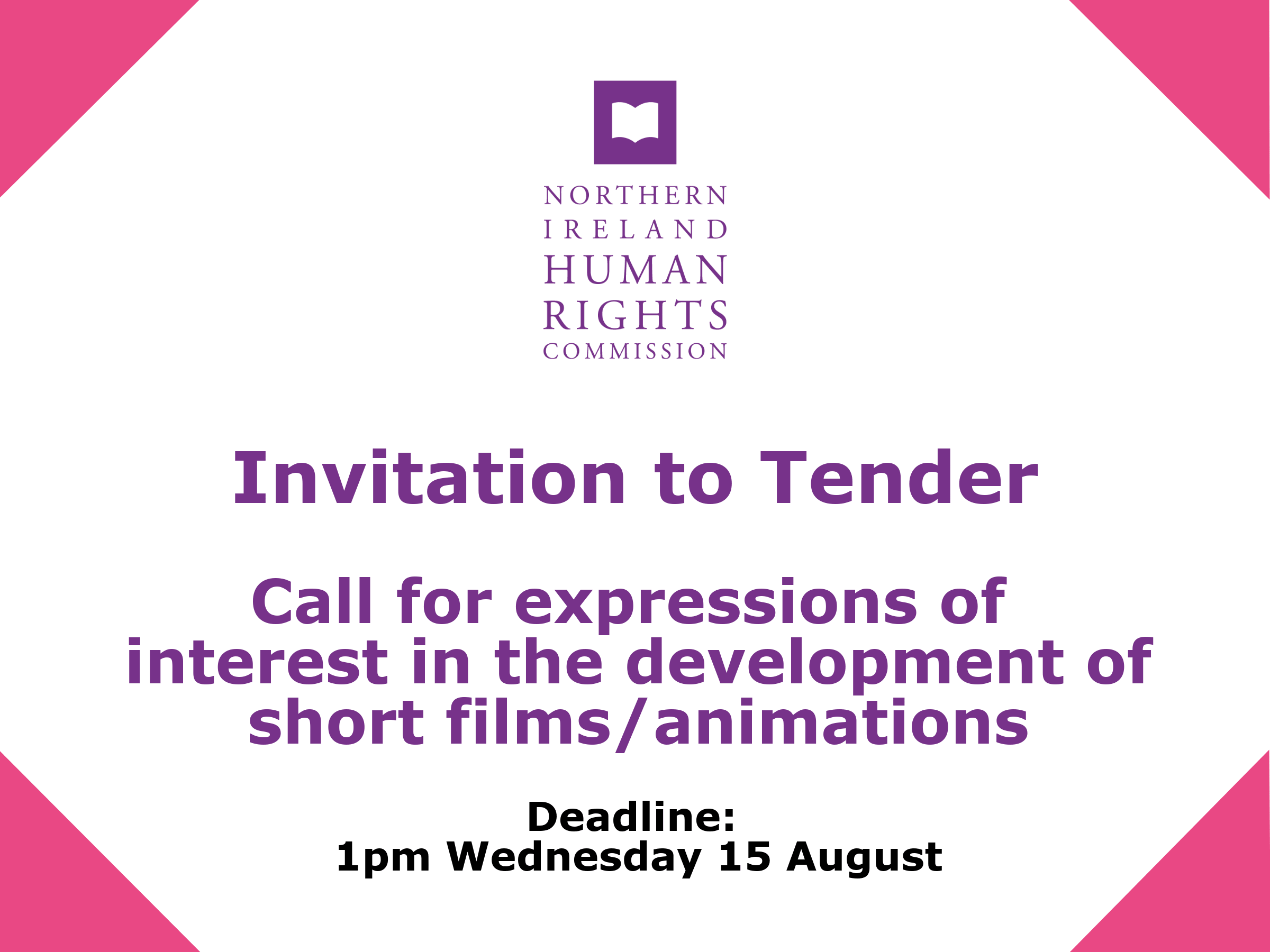 Invitation to tender human rights animations the northern ireland call for expressions of interest on the development of short human rights animations stopboris Choice Image
