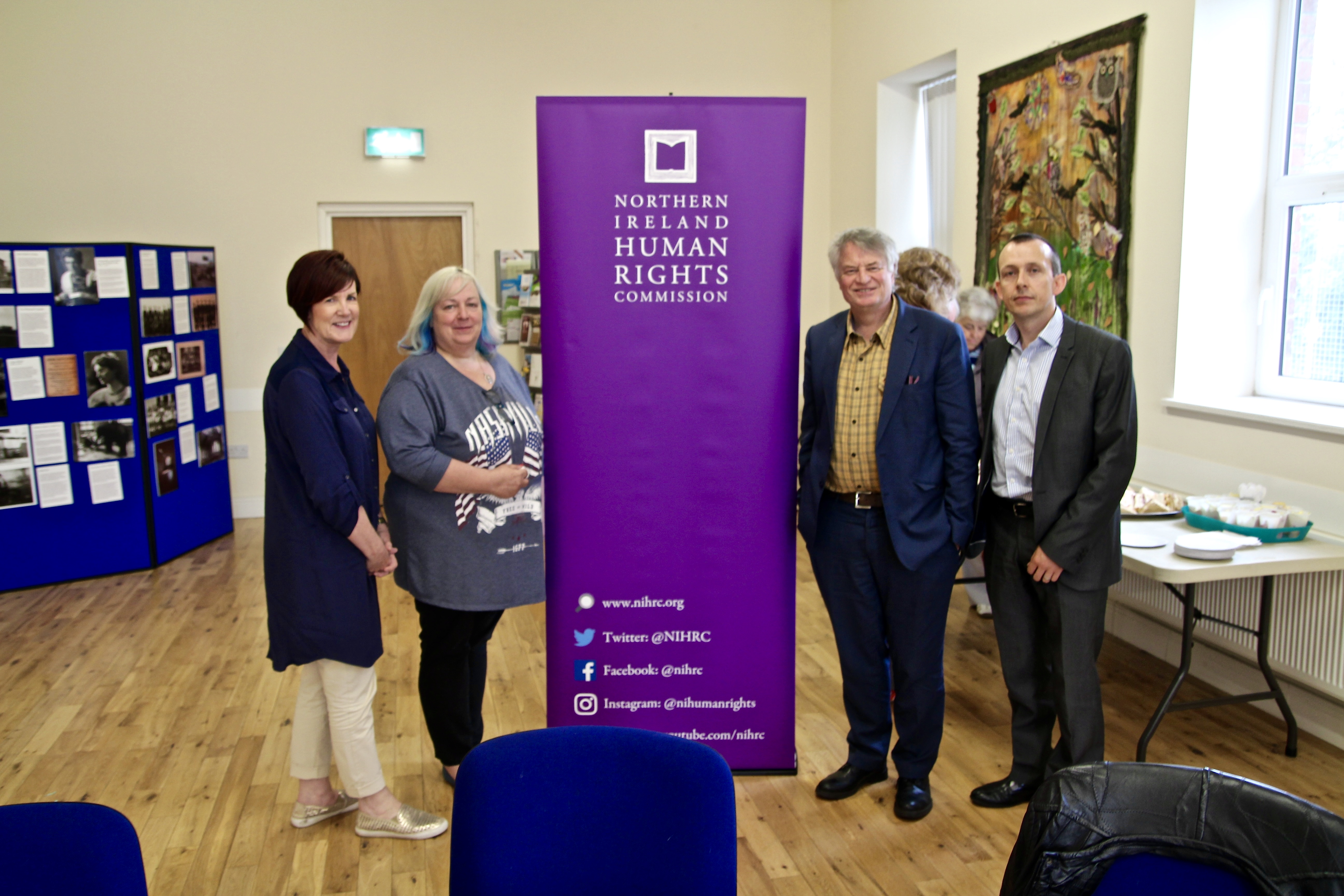 89e674773548 The Northern Ireland Human Rights Commission visited community  representatives from Antrim and Newtownabbey on Thursday 1 June. The visit  took place as part ...