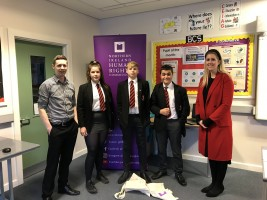 Human rights and poverty explored at Fivemiletown College