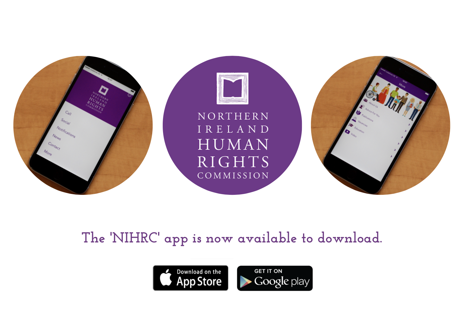 NIHRC launches new app