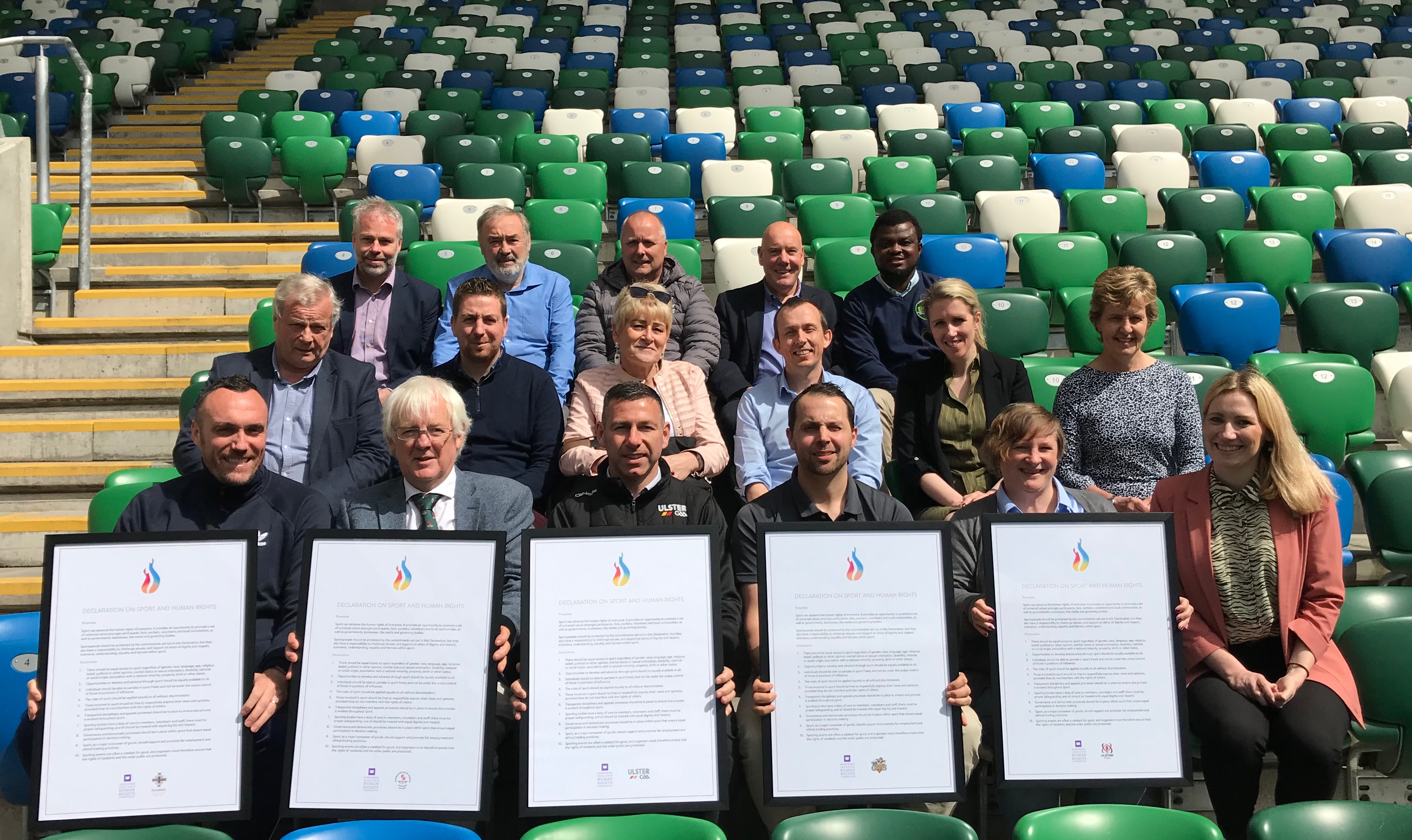 National Football Stadium plays host to first NI Sport & Human Rights Forum